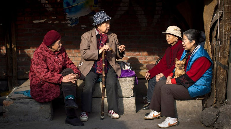 Illustration for article titled In China, People Might Soon Be Required By Law to Visit Their Elderly Parents
