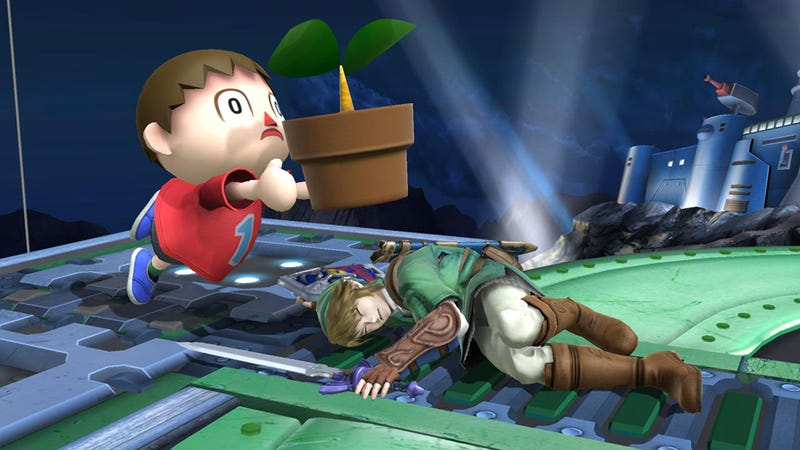 Illustration for article titled Two Years Later, Smash Bros. Creator's Arm is Still Busted