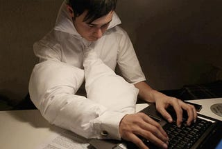 Illustration for article titled Good Ideas: Pillow-Enhanced Clothing For Office Drones Working Late
