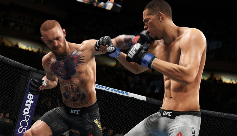 Illustration for article titled EA UFC 3's Beta Has Brutal Striking, But Falls Apart On The Ground