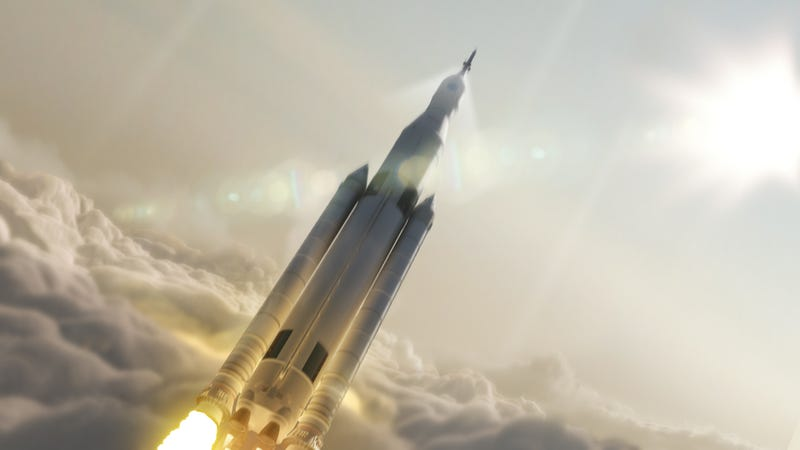 Illustration for article titled NASA Sets A 2018 Launch Date For The Rocket That Will Take Us To Mars