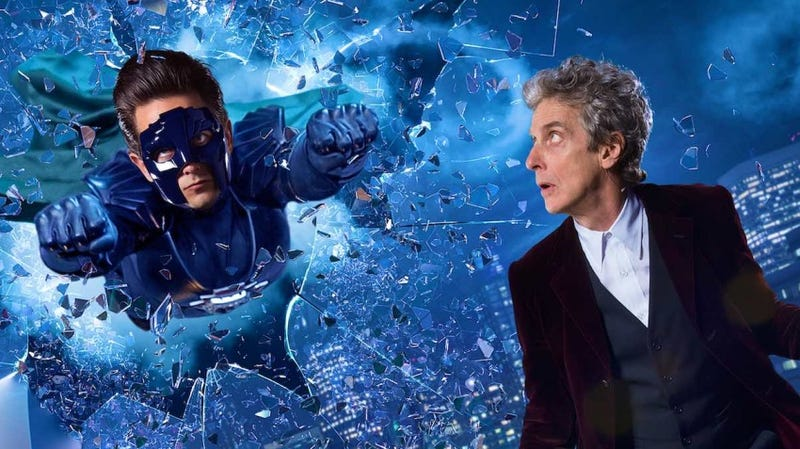 Illustration for article titled Doctor WhoSuperhero Special Is a Smash in the US, But Might Bomb in Britain