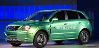 Illustration for article titled Detroit Auto Show: Saturn Vue Plug-In Hybrid