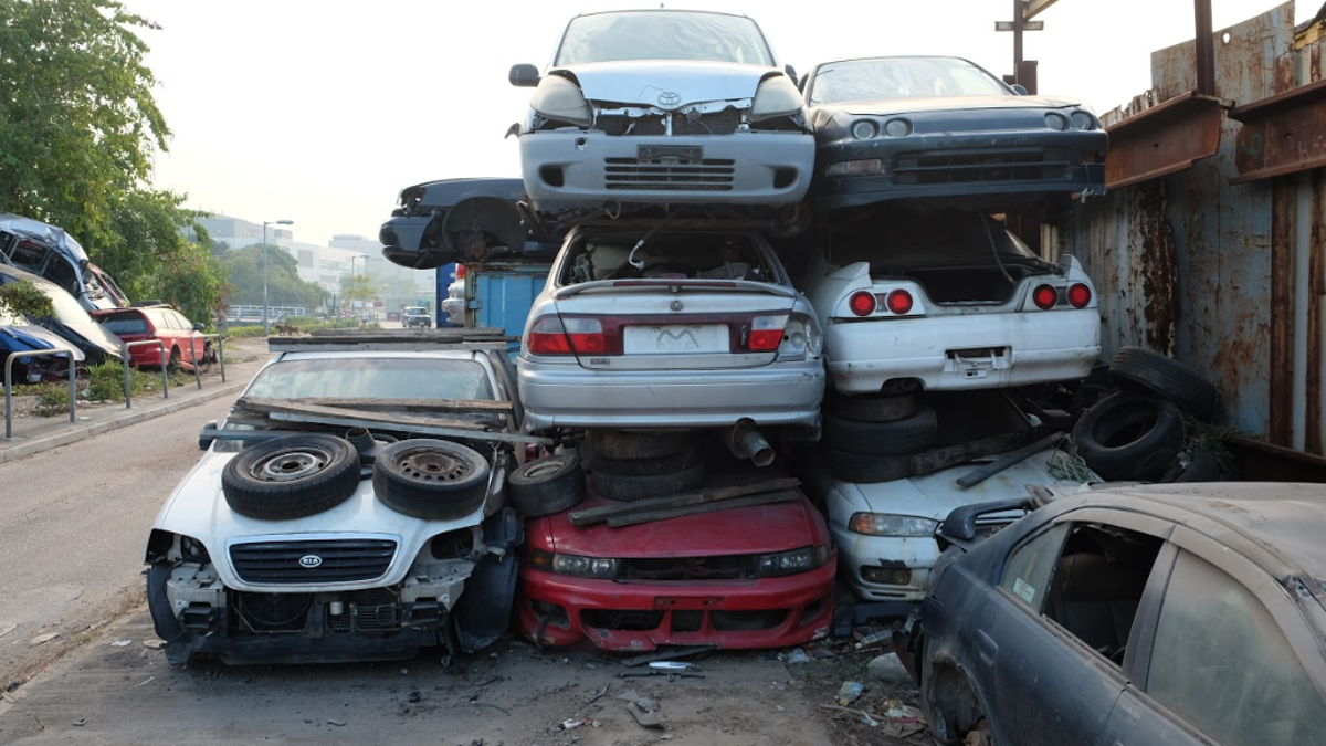 The Cars I Found Abandoned And Junked In Hong Kong Will Blow Your Mind