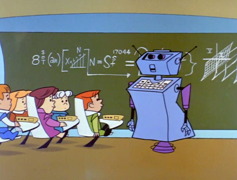 Illustration for article titled The Jetsons Get Schooled: Robot Teachers in the 21st Century Classroom