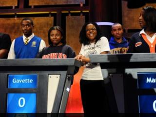 Ford Black College Quiz Game Show contestants (Jahi Chikwendiu/the Washington Post)