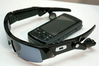 Illustration for article titled Toshiba 911T Comes With Oakely Wireless MP3 Sunglasses