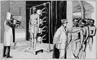 Illustration for article titled South African miners used to be inspected by X-ray for stolen diamonds