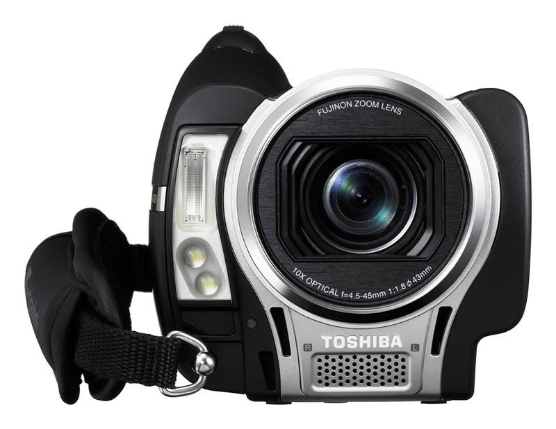 Illustration for article titled Gigashot A100 Series is Small, Full HD Camcorder from Toshiba