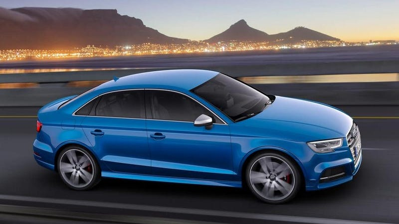 2017 Audi S3, I'm not sure if the 2020 model is strikingly different as Audi didn't include any pictures of it in the release. Photo: Audi