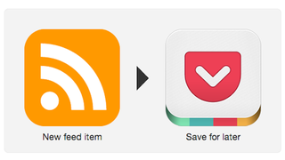 Illustration for article titled Combine IFTTT and Pocket, Evernote, or Gmail for a DIY Google Reader Replacement