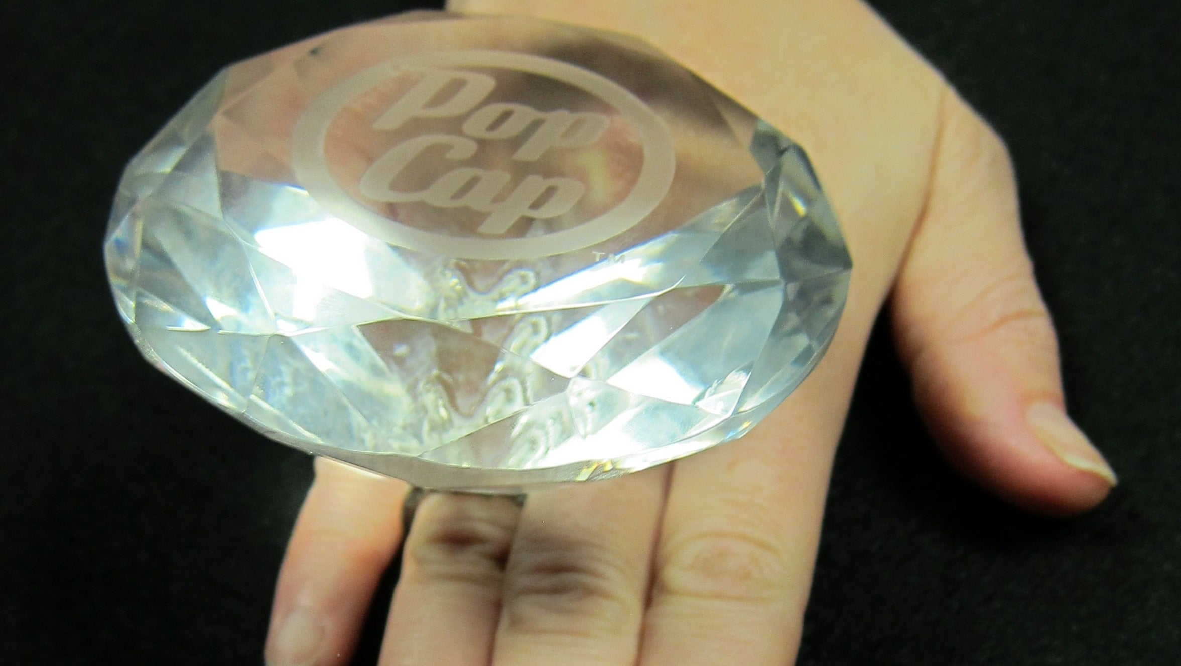 world 39 s most absurd fake diamond ring awarded to bejeweled