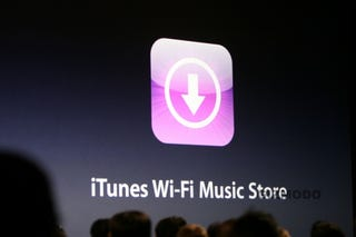Illustration for article titled iTunes Wi-Fi Music Store for iPod Touch Includes All Songs from iTMS
