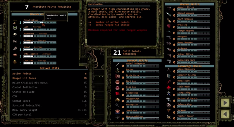 Illustration for article titled Wasteland 2 Looks Incredibly Complicated