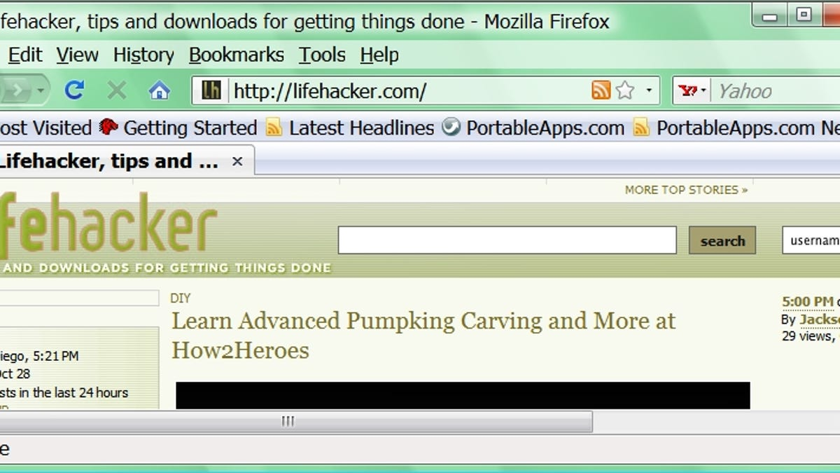 Ten Firefox Themes as Dark as Your Soul