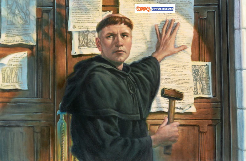 Illustration for article titled On This Day 500 Years Ago, Martin Luther Published the First Oppositelock Post
