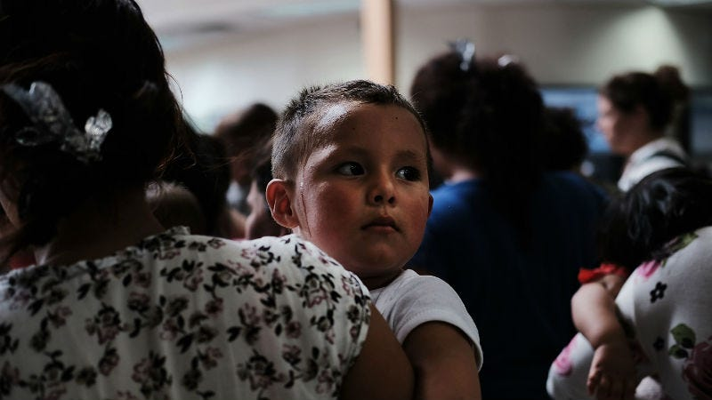 Illustration for article titled ACLU Says Less Than Half of Migrant Families Will Be Reunited by Tuesday Deadline