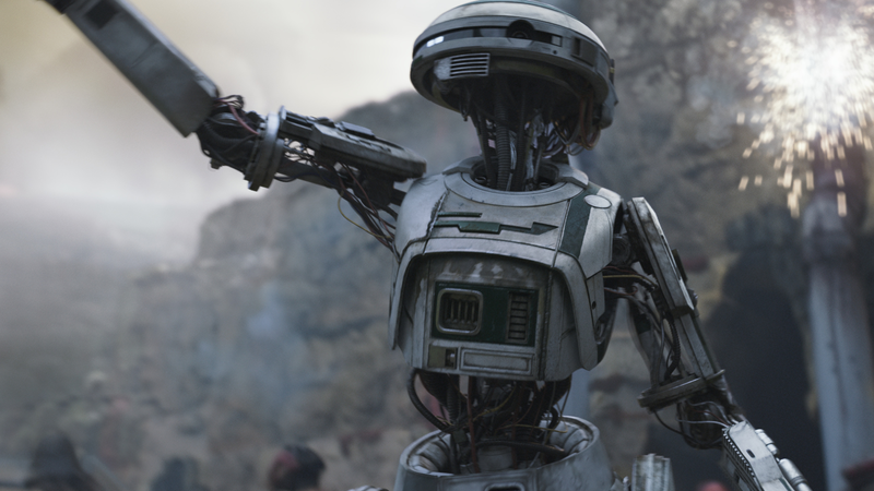A droid in Solo, not played by Anthony Daniels.