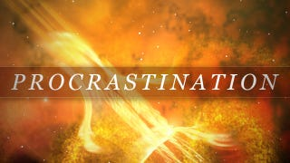 """Illustration for article titled Overcome Procrastination with """"Solar Flaring"""""""