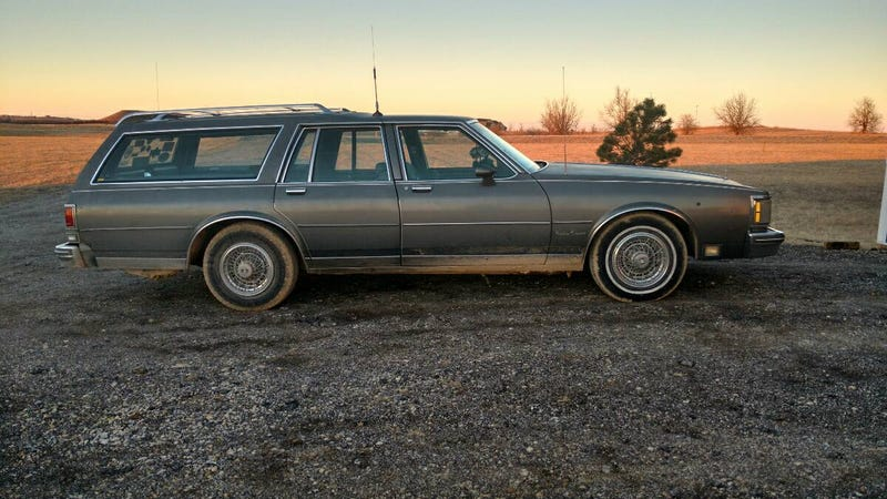 At 6000 Should This Fast As Hell 1986 Olds Custom Cruiser Sell