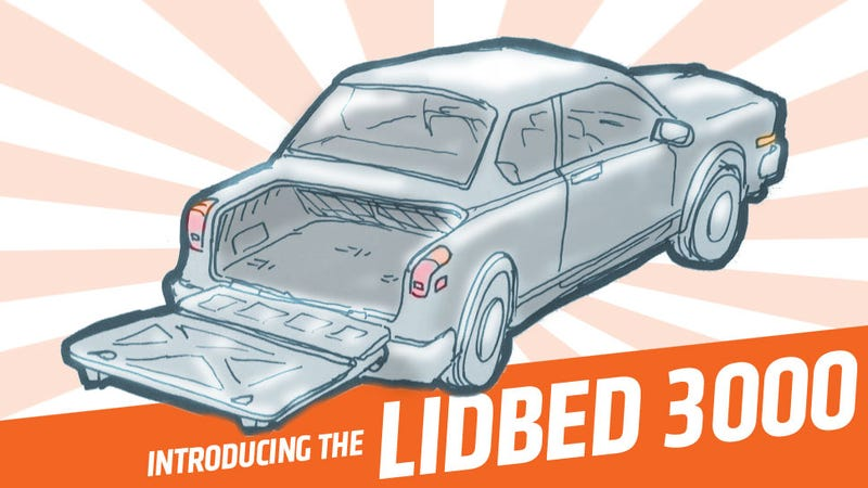 Illustration for article titled This Is The Most Revolutionary Trunklid Concept You'll See All Day