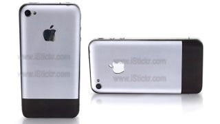 Illustration for article titled Turn Your iPhone 4 into an Original iPhone with This Sticker