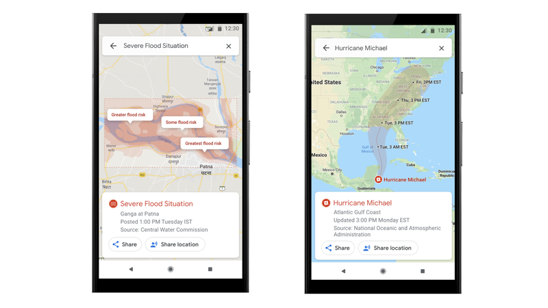 Google Maps Will Now Warn You About Natural Disasters in Your Area