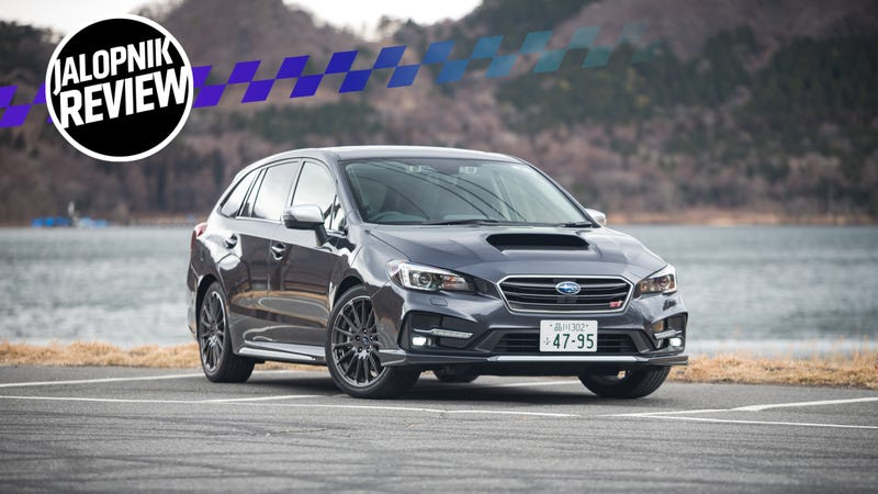 Wrx Cvt >> The 2018 Subaru Levorg Is A WRX Wagon For Grown-Ups