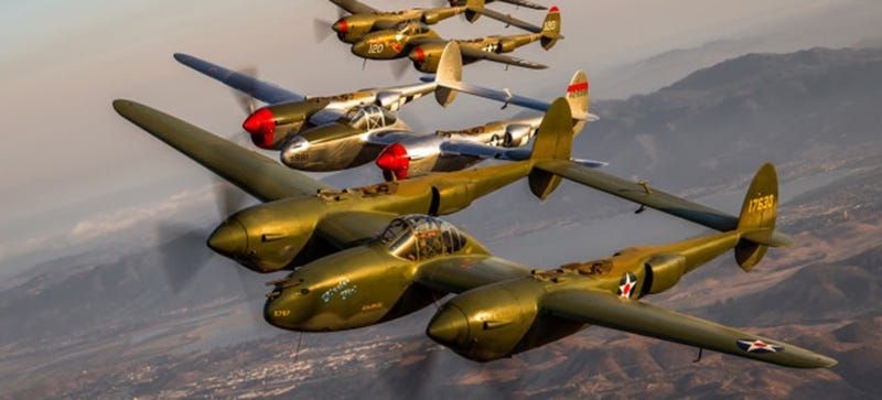 Illustration for article titled Amazing Warbird Photos Look Like They Were Taken By A Time-Traveler