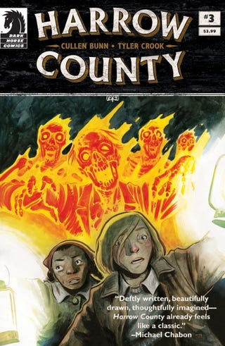 Illustration for article titled Harrow County Being Developed for TV by Syfy