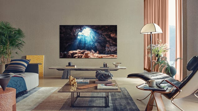 Samsung Is Making MicroLED TV Sizes That Are More Practical for Us Commoners