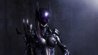 Illustration for article titled Final Fantasy designer returns to give us this bizarre Catwoman redesign
