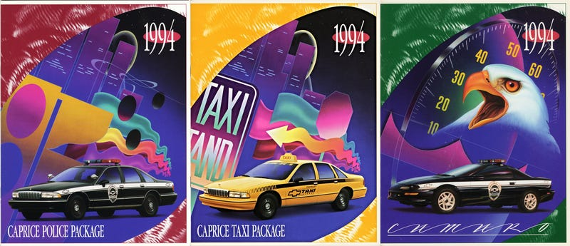 Illustration for article titled Why Was Chevrolet's 1994 Fleet Catalog So Amazing?