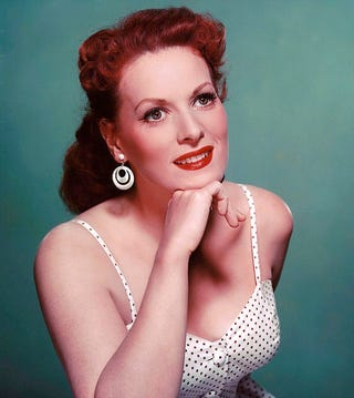 Illustration for article titled Maureen O'Hara: IN TECHNICOLOR but mostly B/W(maybe NSFW)