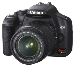 Illustration for article titled Canon Expands Rebel Alliance With Live View 12-Megapixel EOS XSi