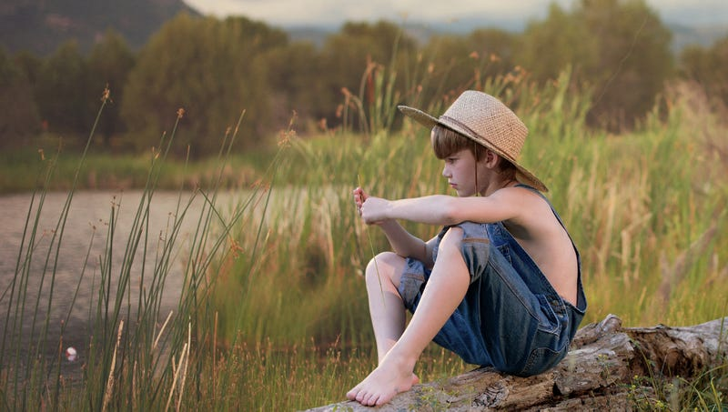 Illustration for article titled U.S. Fish And Wildlife Service Reintroduces Straw Hat-Wearing Boys To Old Fishin' Holes