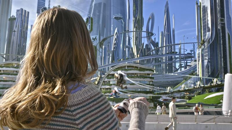 Illustration for article titled Disney's Tomorrowland realizes a bright future dreamt up in the past