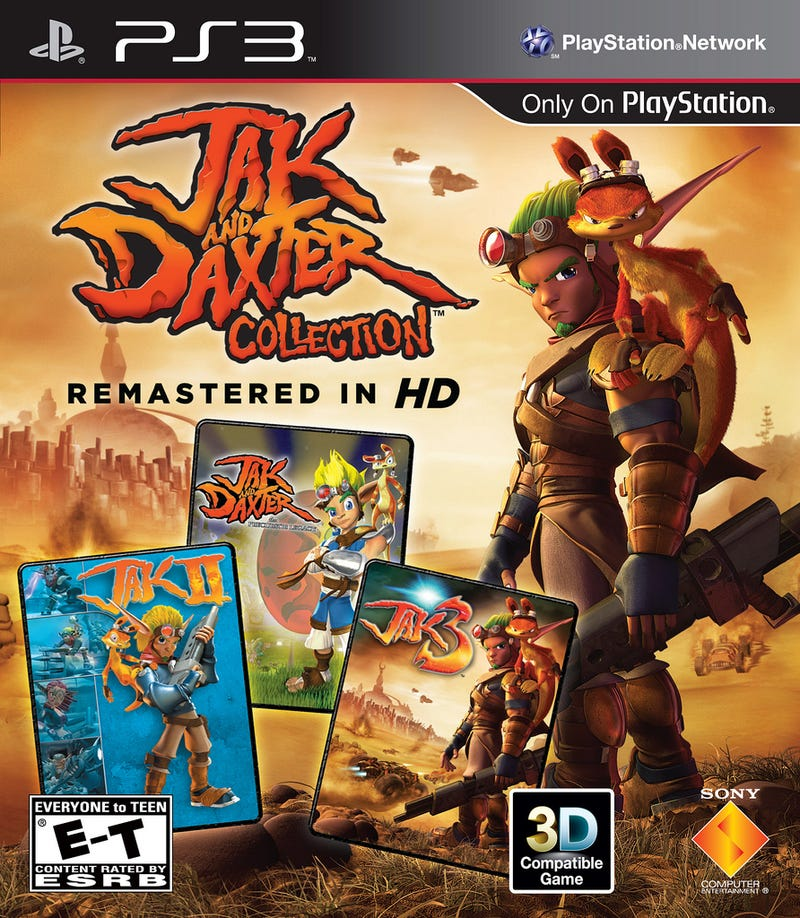 Illustration for article titled Jak and Daxter Bring More Than 100 Trophies to the PlayStation 3 February 7