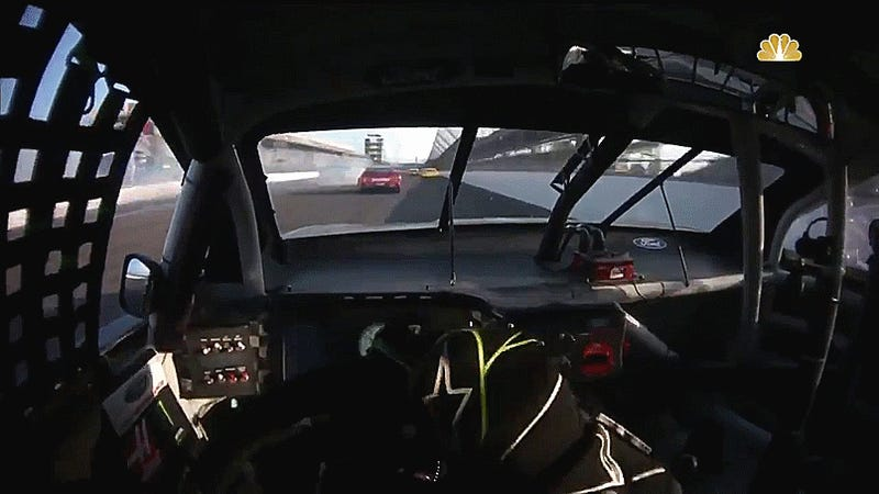 Watching A Hard NASCAR Crash On A Helmet Cam Is The Most Intense Thing