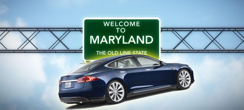 Illustration for article titled Tesla Direct Sales Get The OK In Maryland