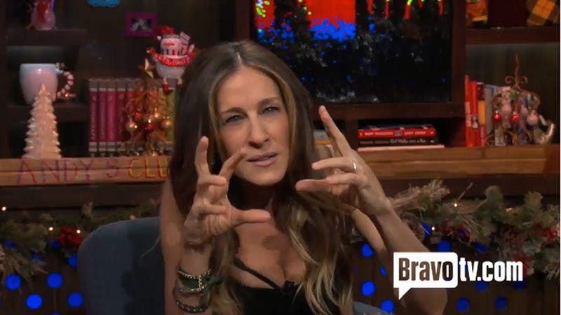Illustration for article titled The Time Sarah Jessica Parker Read a Story About Her 'Witch Hands'
