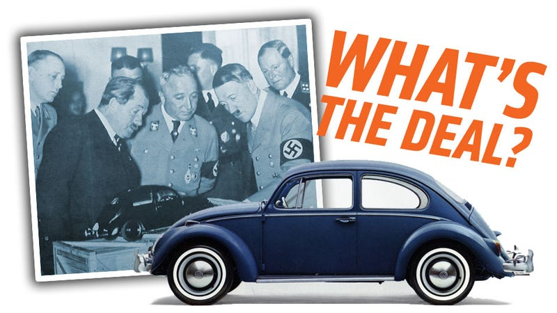 Illustration for article titled The Real Story Behind The Nazis And Volkswagen