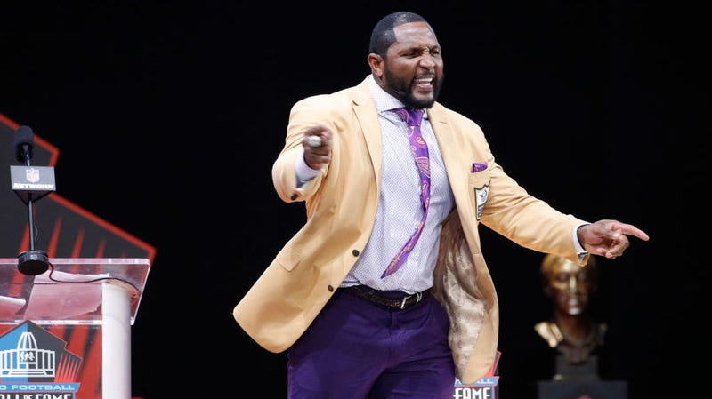 Illustration for article titled Ray Lewis's Hall Of Fame Speech Was Actual Frothing Madness