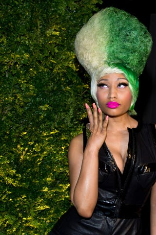 Illustration for article titled Nicki Minaj Has Not Been Assaulted, Has Been Lying About Her Age