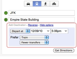Illustration for article titled Google Maps Offers More Transit Options, Like More Subway Use and Fewer Transfers