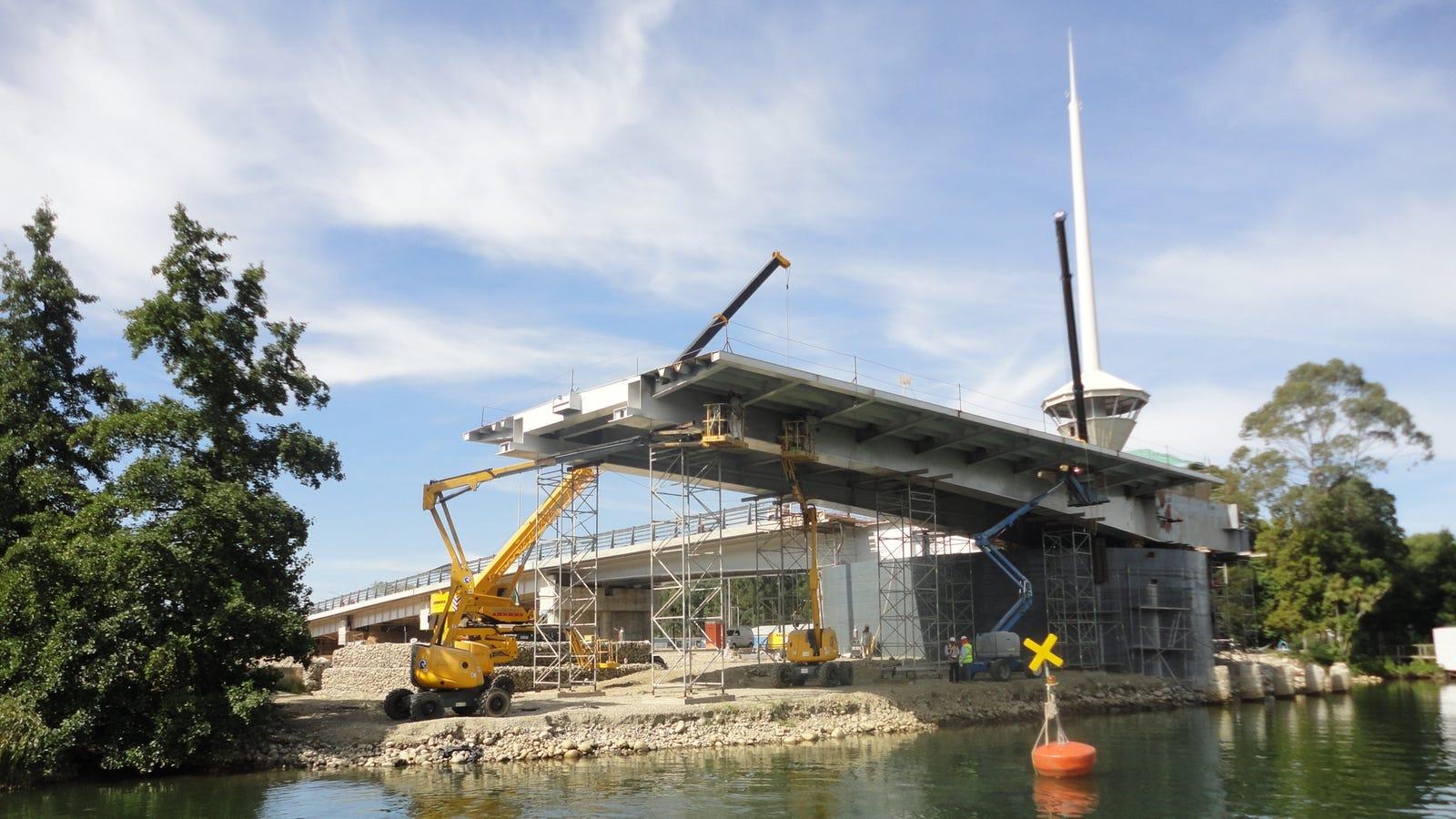 Chile pagará $15 millones para rehacer el puente que una empresa española construyó al revés