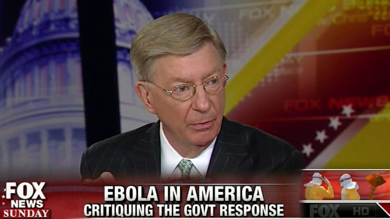 Illustration for article titled Professional Idiot George Will Paid $48K to Speak at Miami University