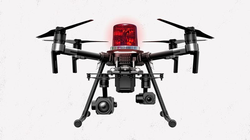 Illustration for article titled Who Will Police Police Drones?