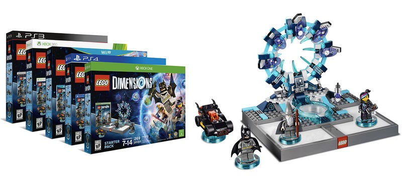 Illustration for article titled Lego Dimensions transports your bricks and Minifigs into a video game