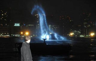 Illustration for article titled Move Over Godzilla, The Loch Ness Monster Terrorizes Tokyo